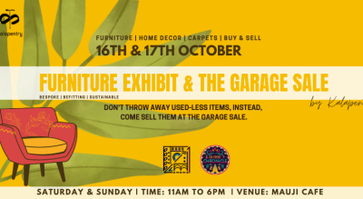 The Garage Sale & Furniture Exhibition by Kalapentry