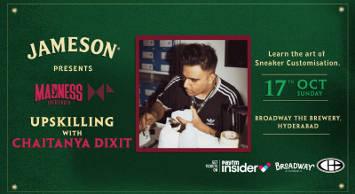 Jameson Madness Xperiences - Upskilling with Chaitanya Dixit