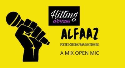 Alfaaz: A mix open mic
