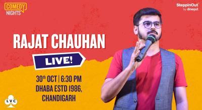 Rajat Chauhan Live   Chandigarh