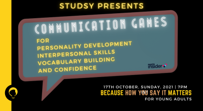 Communication Games for Young Adults by Studsy
