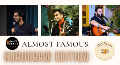 Almost famous-A Comedy, Music & Poetry show