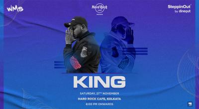 King Live at Hard Rock Cafe