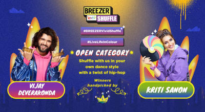 BREEZER Vivid Shuffle Open Category
