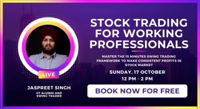 Masterclass on Stock Trading for Working Professionals