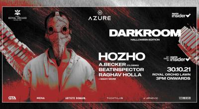 DARKROOM (Halloween Edition) featuring HOZHO at Royal Orchid Lawn