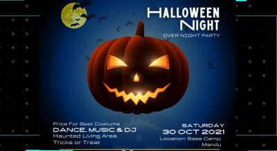 Halloween Night Mandu🎃