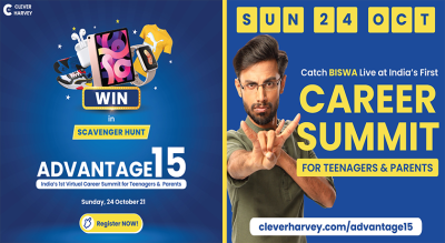 Clever Harvey Advantage15 - Virtual Career Summit for Teens and Parents