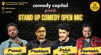 Comedy Capital Delhi (Open Mic)