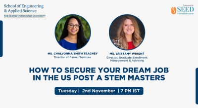 How to secure your dream job in the US post a STEM Masters