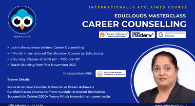 Educlouds Career Counselling Masterclass