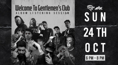 Welcome To Gentlemen's Club Album Listening Session