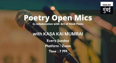 Poetry Open Mic In Collaboration With Art Of Hindi Poets