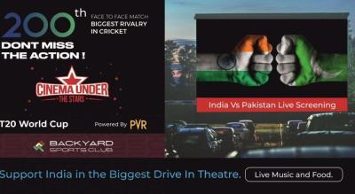 India Vs Pakistan T20 World Cup Live Screenings