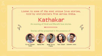 Kommune Presents Kathakar: An evening of Love stories