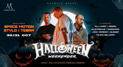 Halloween Weekender with Space Motion, Stylo, Tebra + More