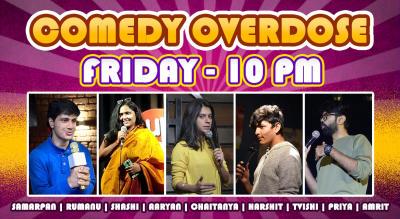 Comedy Overdose Open Mic