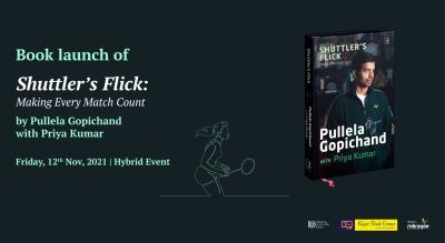 Shuttler's Flick - An exclusive evening with Pullela Gopichand