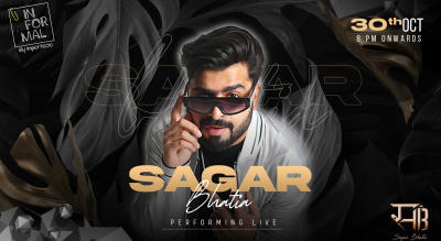 Sagar Bhatia Performing Live