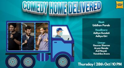 Comedy Home Delivered Ft. Aditya Gundeti