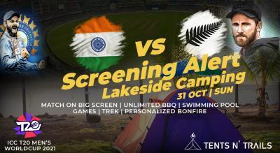 India vs New Zealand Screening @Tents N' Trails