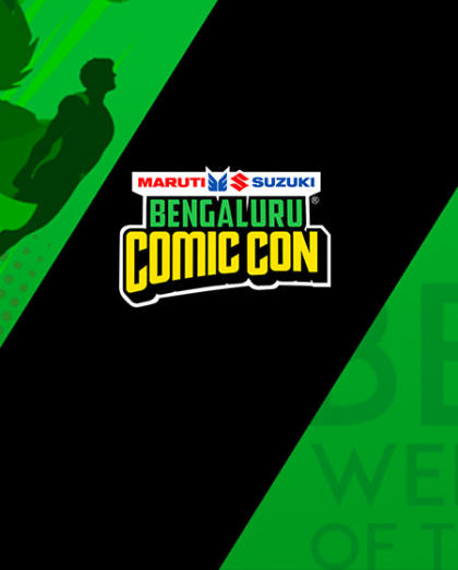 Sign up for updates on Bengaluru Comic Con, 2018!