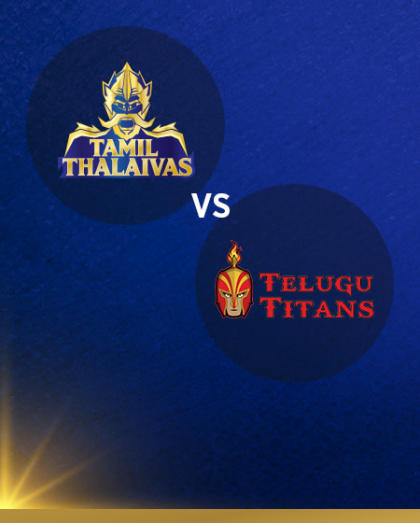 VIVO Pro Kabaddi - Dabang Delhi K.C vs Gujarat Fortunegiants and Tamil Thalaivas vs Telugu Titans