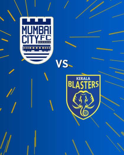 Hero Indian Super League 2018-19: Mumbai City FC vs Kerala Blasters FC