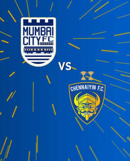 Hero Indian Super League 2018-19: Mumbai City FC vs Chennaiyin FC