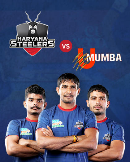 VIVO Pro Kabaddi - Bengaluru Bulls vs Tamil Thalaivas and Haryana Steelers vs U Mumba