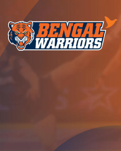 Sign up for updates on the VIVO Pro Kabaddi Season VI - Bengal Warriors Home leg match tickets