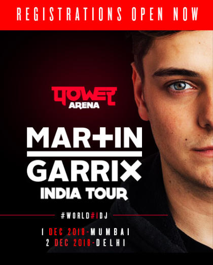 Register Now For Power Arena – Martin Garrix India Tour
