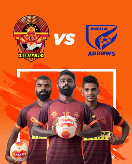 Hero I-League 2018-19: Gokulam Kerala FC vs Indian Arrows