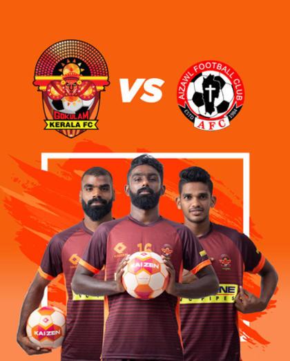 Hero I-League 2018-19: Gokulam Kerala FC vs AIZAWL FC