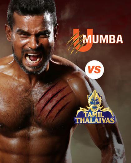 VIVO Pro Kabaddi - Patna Pirates vs Dabang Delhi K.C. and U Mumba vs Tamil Thalaivas