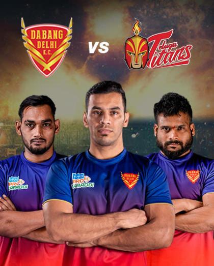 VIVO Pro Kabaddi - Patna Pirates vs Gujarat Fortunegiants and Dabang Delhi K.C. vs Telugu Titans