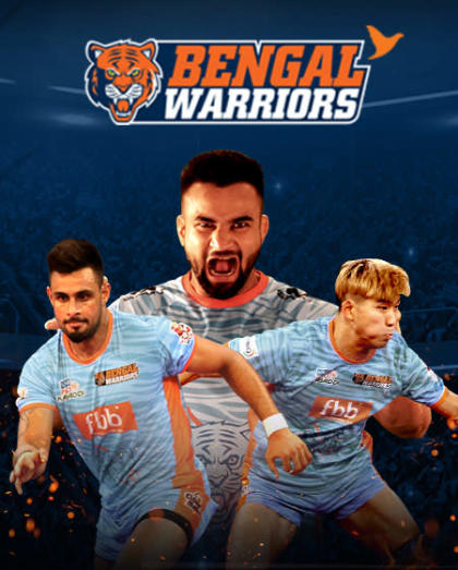 VIVO Pro Kabaddi - Bengal Warriors vs Tamil Thalaivas and Puneri Paltan vs Telugu Titans