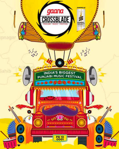 Gaana Crossblade Music Festival, Chandigarh