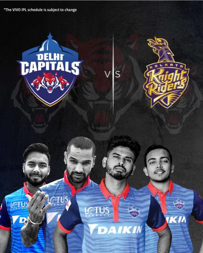 VIVO IPL 2019 - Match 10 - Delhi Capitals vs Kolkata Knight Riders
