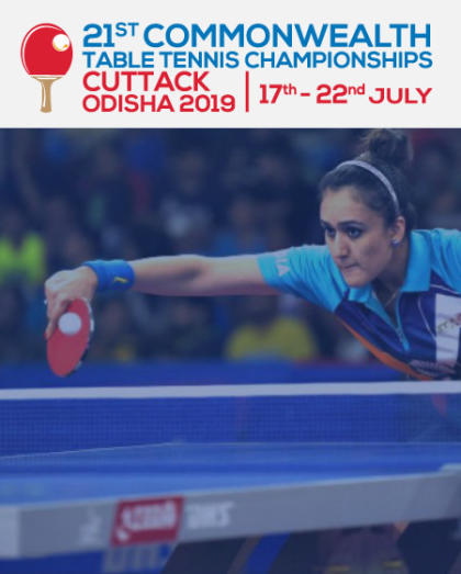 21st Commonwealth Table Tennis Championships 2019