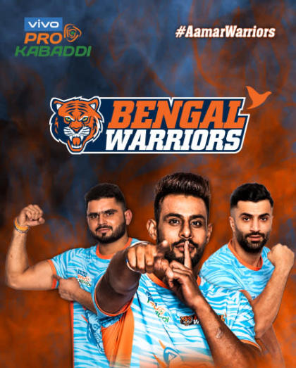 VIVO Pro Kabaddi 2019- Bengal Warriors vs Gujarat Fortunegiants and Dabang Delhi K.C. vs Haryana Steelers