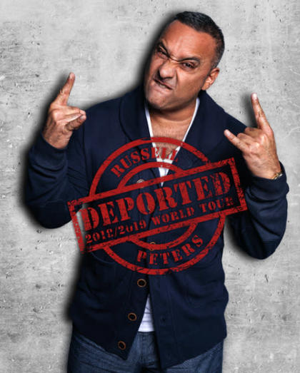 Supermoon ft. Russell Peters Deported World Tour, Hyderabad