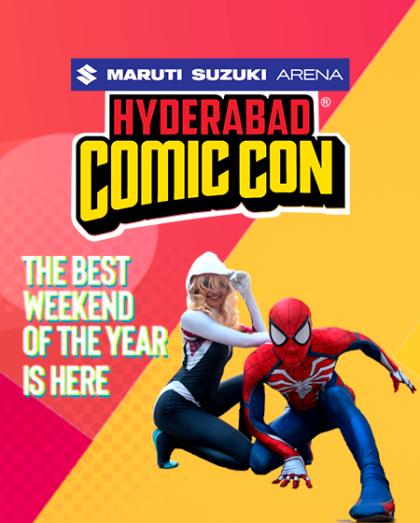 Maruti Suzuki Arena Hyderabad Comic Con 2019