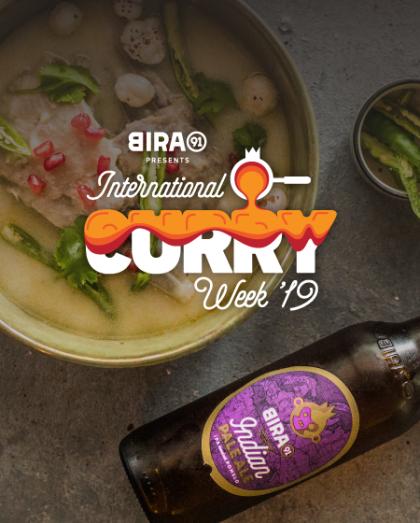 Bira 91 International Curry Week 2019  | New Delhi