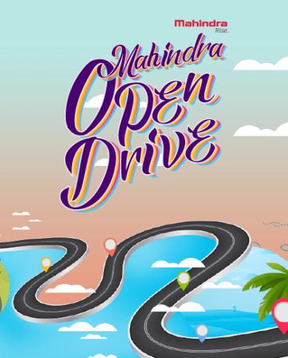 Mahindra Open Drive