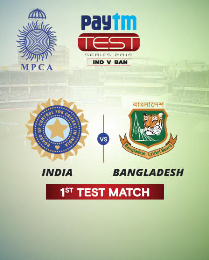 Paytm Test Series: India v Bangladesh 1st Test Match, Indore