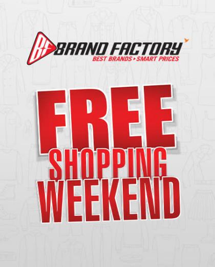Free Shopping Weekend Brand Factory-Vadodara-Raama Icon