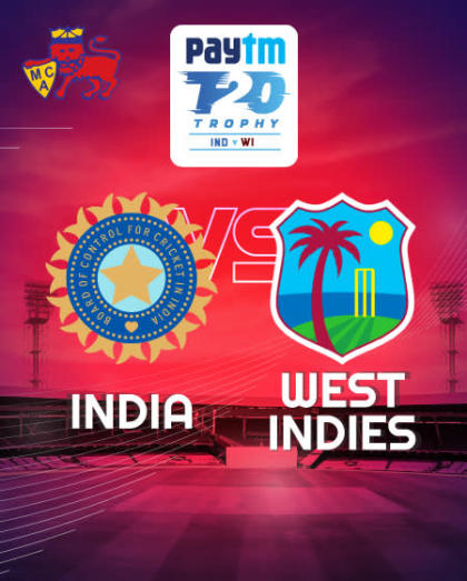 Paytm Series 3rd T20I: India vs West Indies, Mumbai