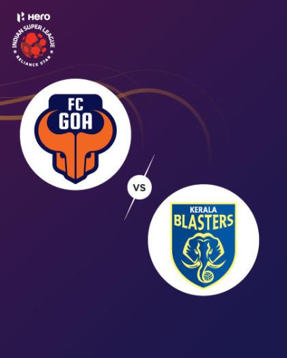 Hero Indian Super League 2019-20: FC Goa vs Kerala Blasters FC
