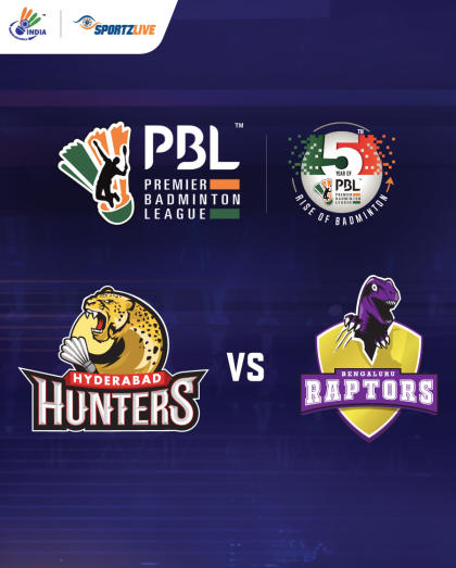PBL 2020: Hyderabad Hunters vs Bengaluru Raptors